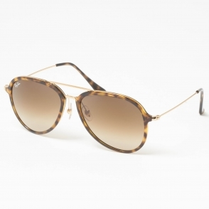 e543eb5a01f17 Tortoise RB4298 Sunglasses - Light Brown Gradient Lenses · Ray Ban ...