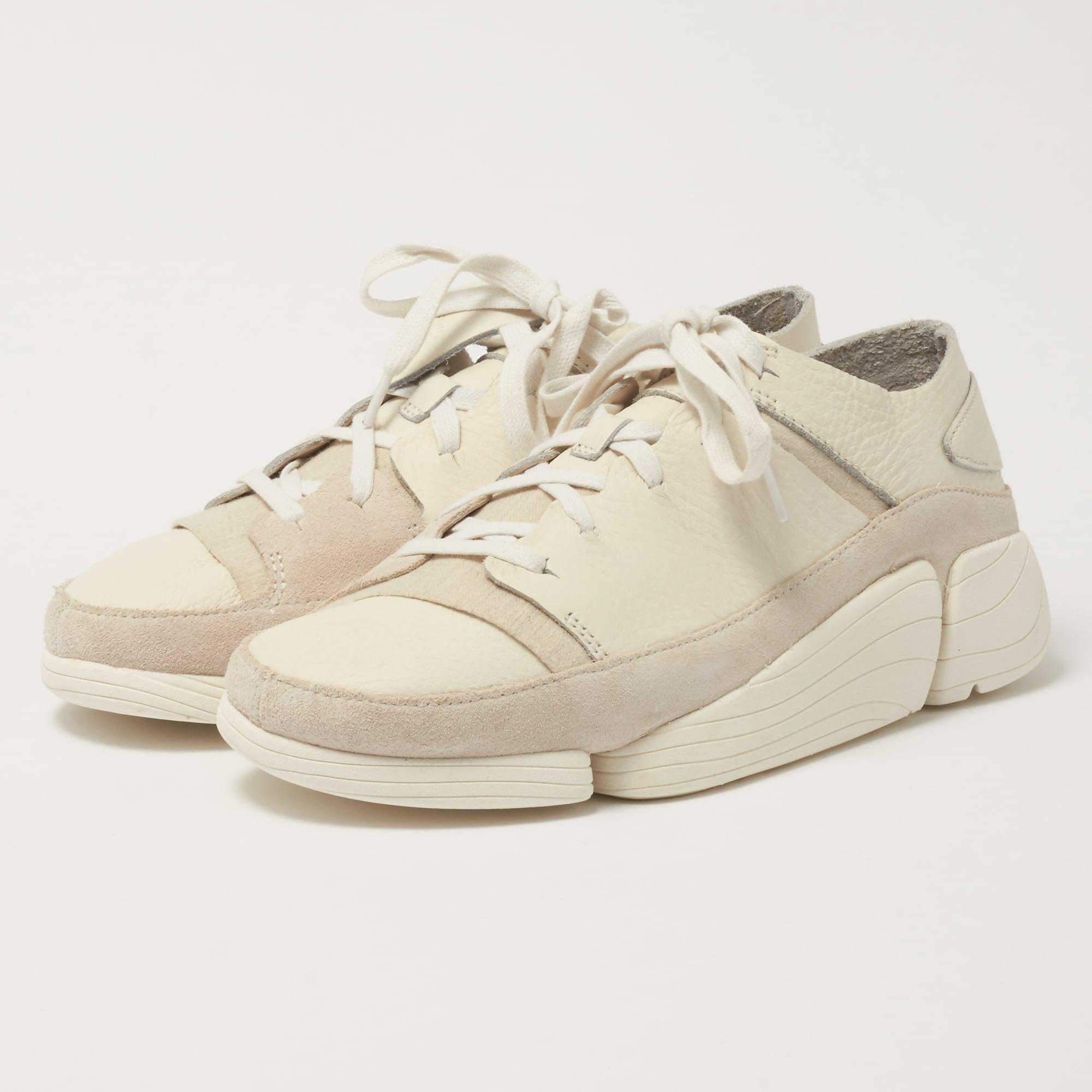 Clarks Originals Trigenic Evo Shoes White Leather