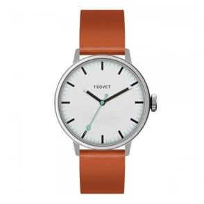 Tsovet SVT-SC38 White Tan Watch SC111513-40