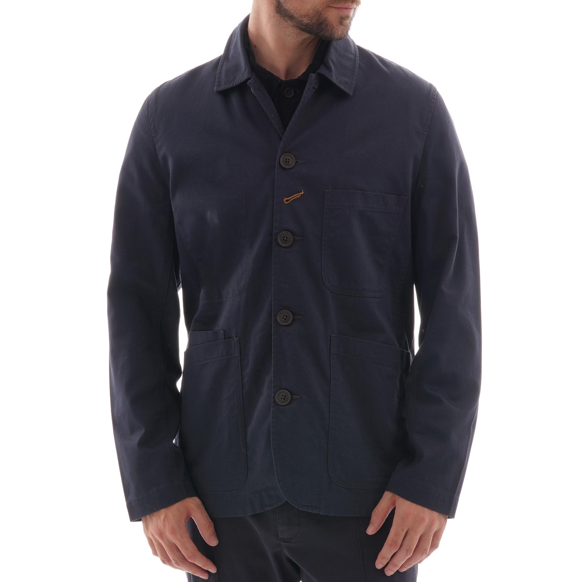 Universal Works Twill Bakers Jacket Navy