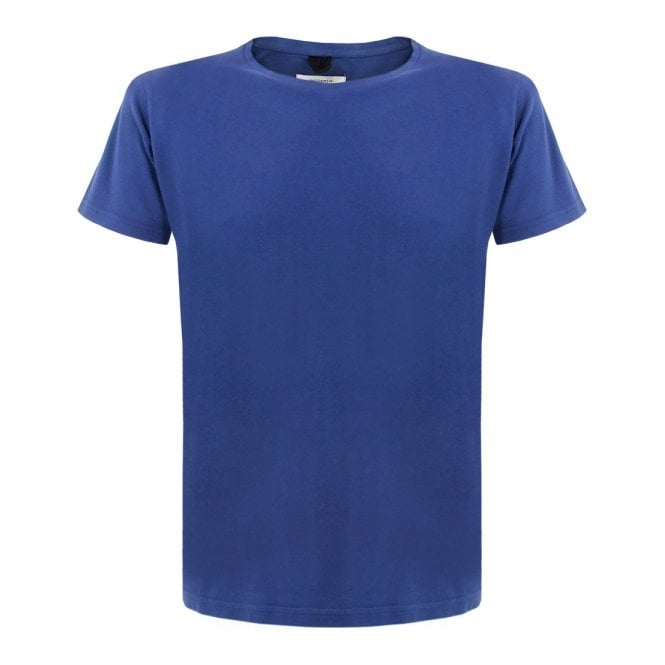 DEADSTOCK Uniforms for the Dedicated The usual Blue Pique T-Shirt 10021