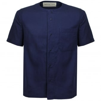 Universal Works Baseball Denim Indigo T-Shirt 16145
