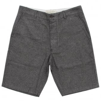 Universal Works Charcoal Deck Shorts 12141