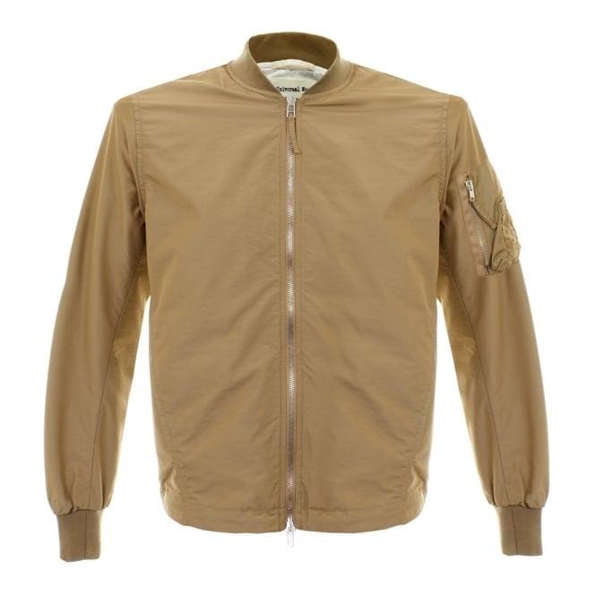 Universal Works MA1 Idra Nylon Camel Jacket 14173