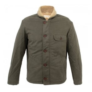 Universal Works N1 Deck Navy Winter Twill Jacket 11008