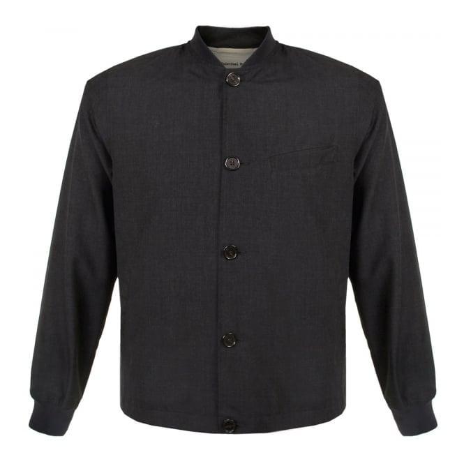 Universal Works Newark Tropical Wool Mix Charcoal Jacket 14509