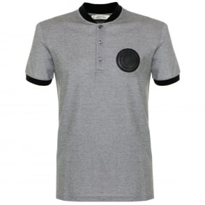 Versace Banana Collar Grey polo Shirt V800731