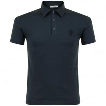 Versace Dark Blue Polo Shirt V800708