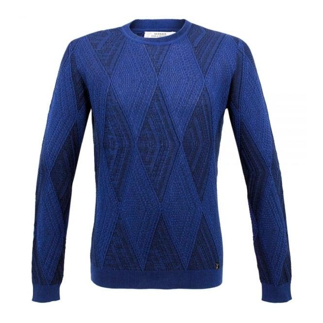 Versace Collection Medium Blue Sweater