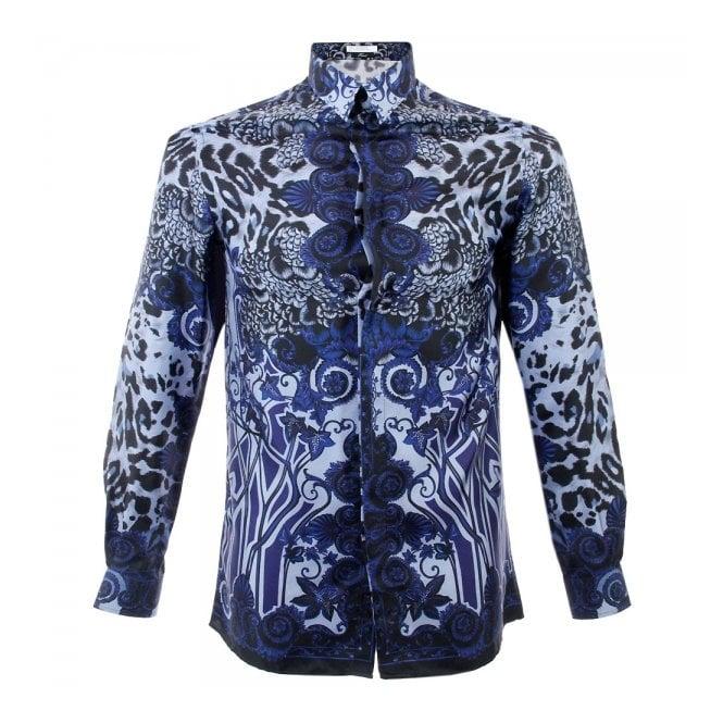 38ca7ee4878d9 Versace Collection Versace Trend Fantasia Silk Shirt V300154