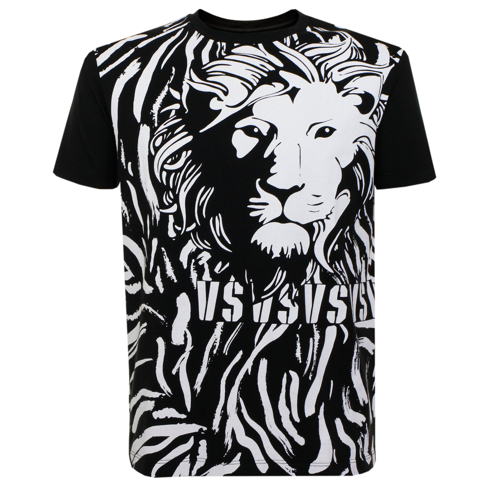 printed T-shirt - Black Versus High Quality Cheap Price Deals Free Shipping Big Sale Sale Online Store Clearance Affordable geyKx7a
