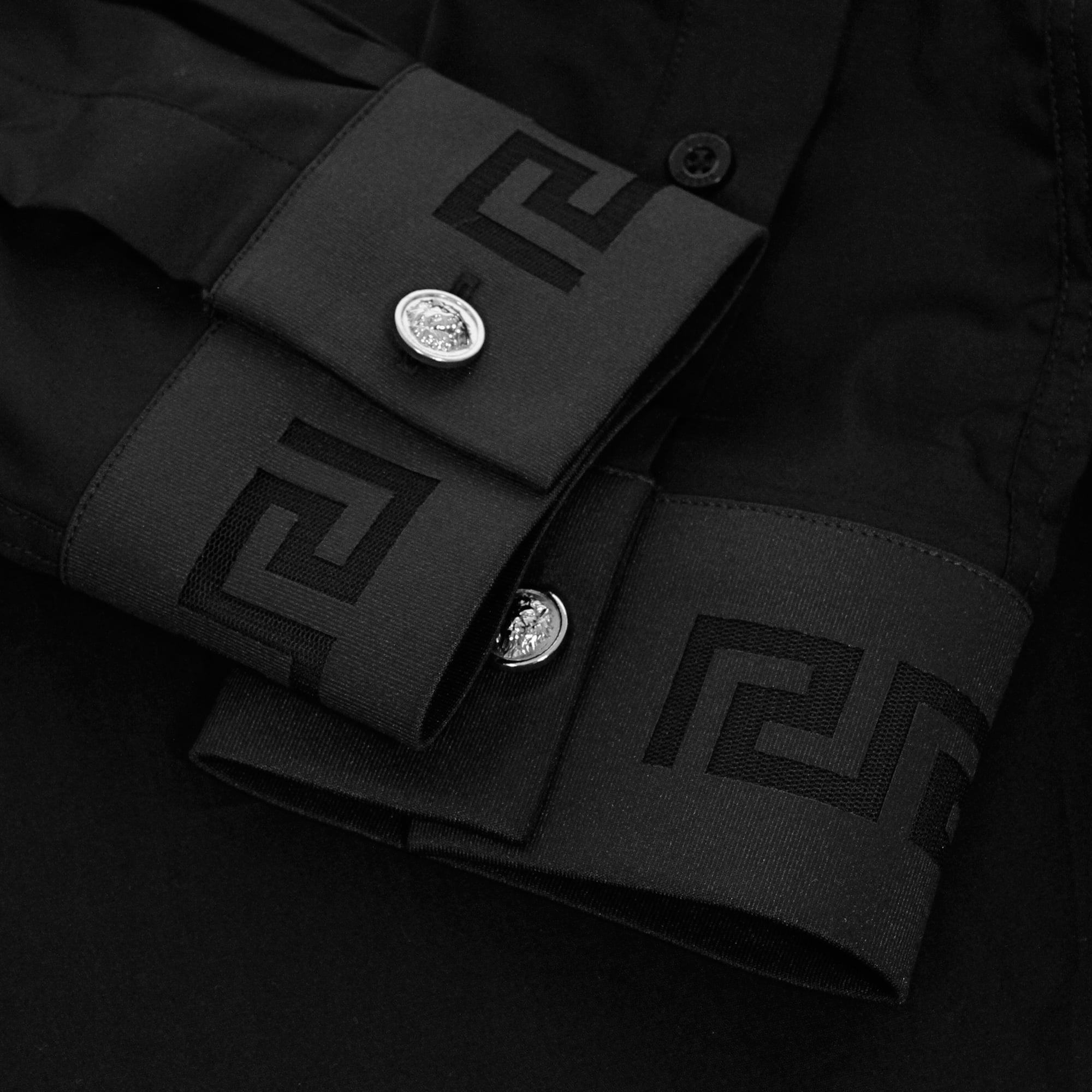 Black And White Versace Shirt
