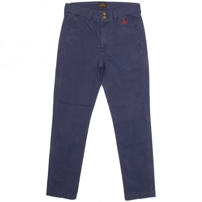 Vivienne Westwood Anglomania Classic Chino Blue 65283506-J37