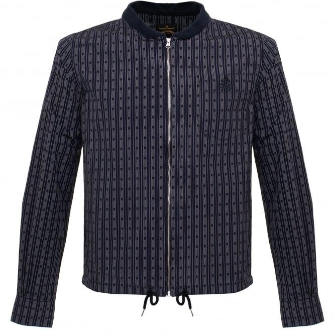 Vivienne Westwood Anglomania Vivienne Westwood Bomber Navy Shirt Jacket 62288517