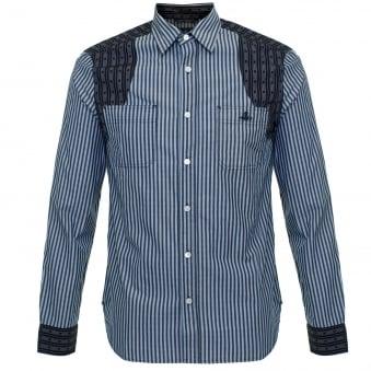 Vivienne Westwood Detailed CLassic Blue Shirt 6228851