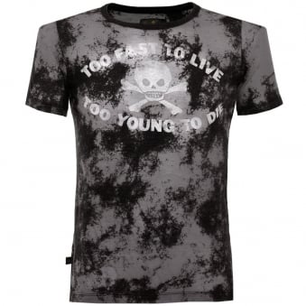 Vivienne Westwood Too Fast To Live Black  T-Shirt 59288501