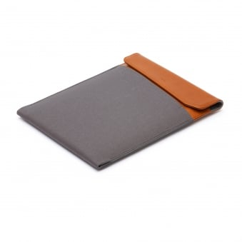 Warm Grey Laptop Sleeve - 15