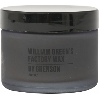 William Green's Black Factory Wax