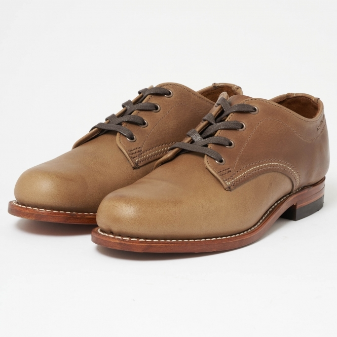 Wolverine 1000 Mile Oxford Natural Leather Shoes W00071
