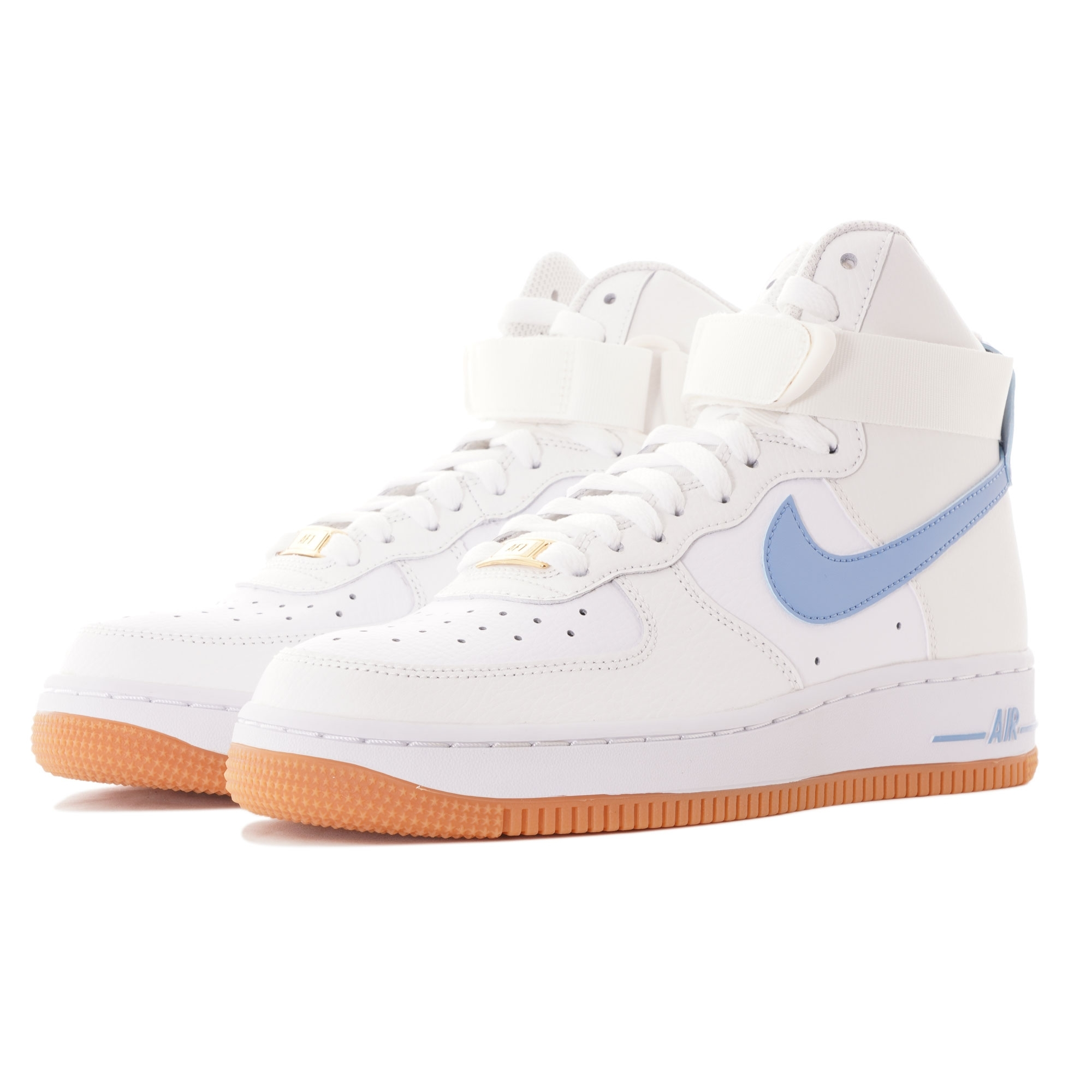 Nike Women S Air Force 1 High White Blue 334031 114