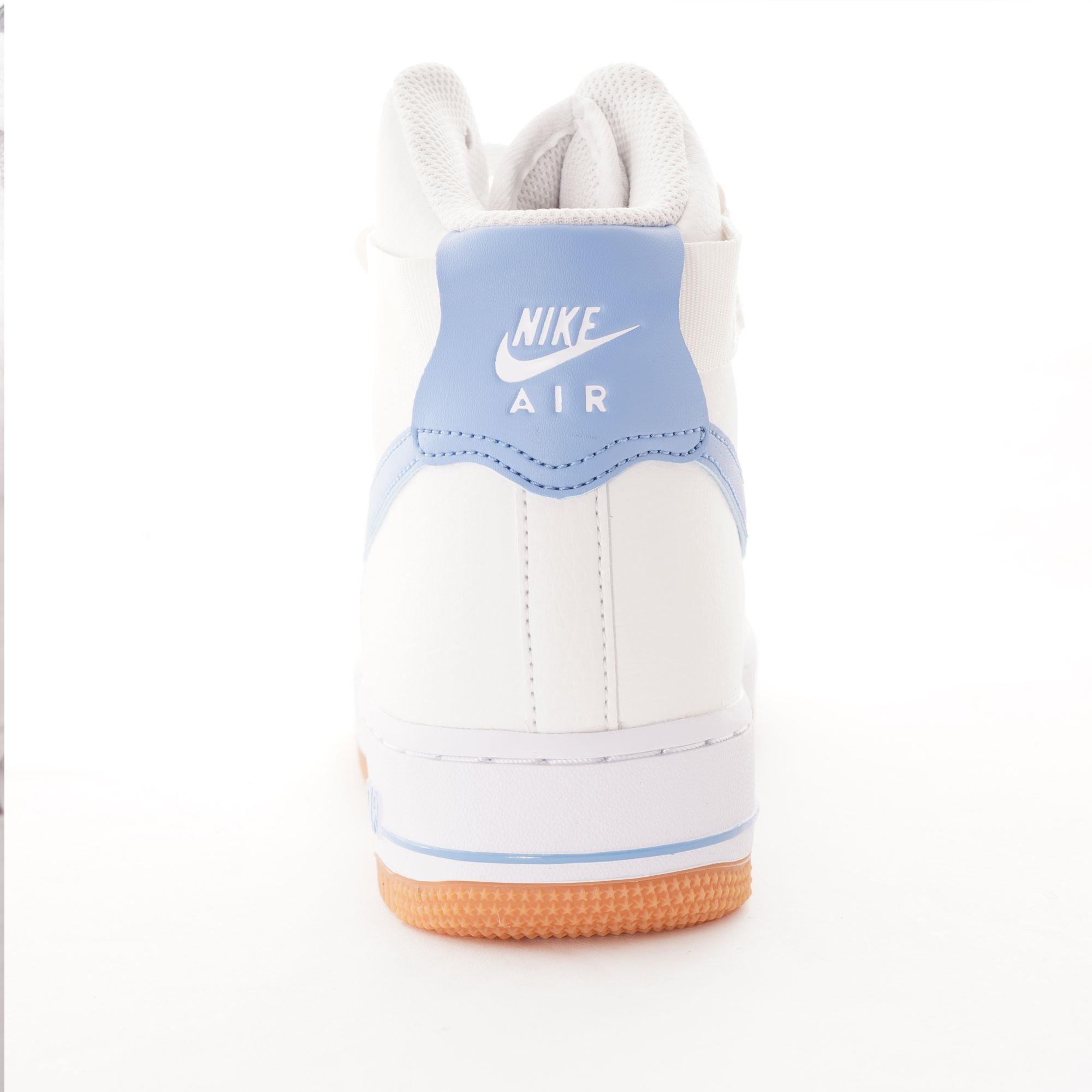 Nike Womens Women's Air Force 1 High - White & Blue