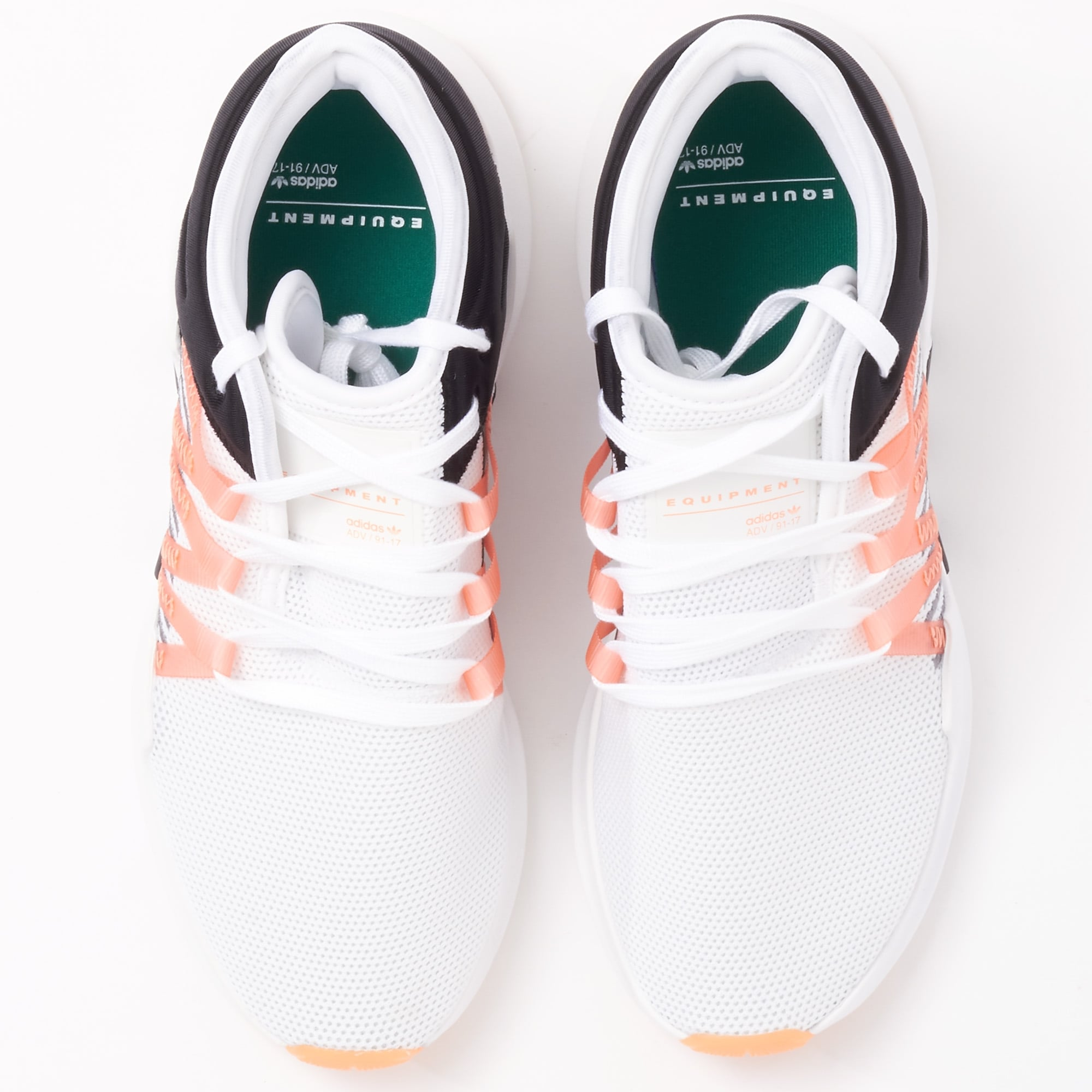 adidas white & coral eqt avanzata racing scarpe w cq2156 noi rivenditori