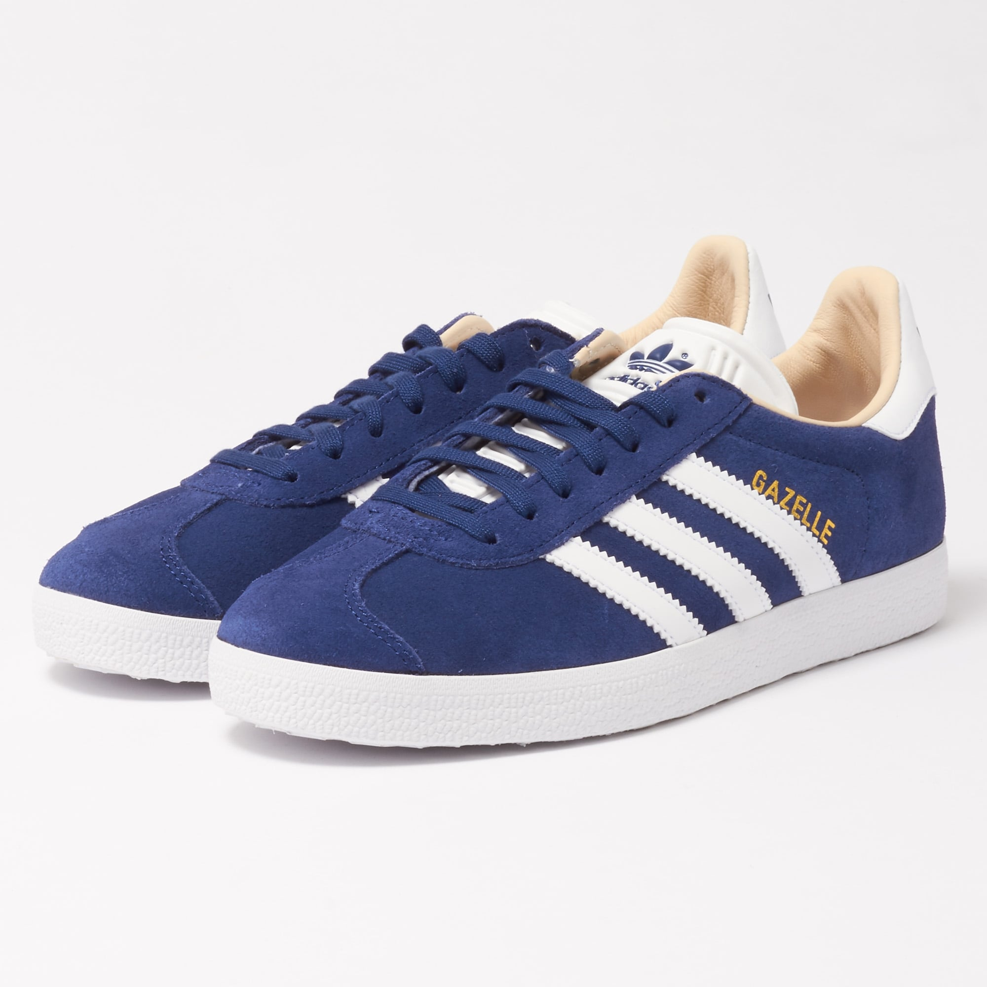 womens adidas gazelle trainers navy nz