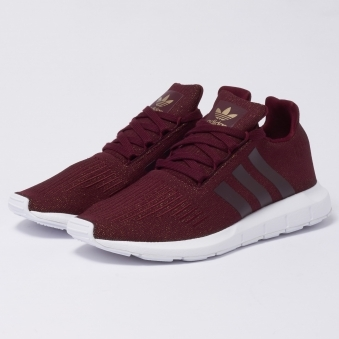 Swift Run Trainers - Brown & White