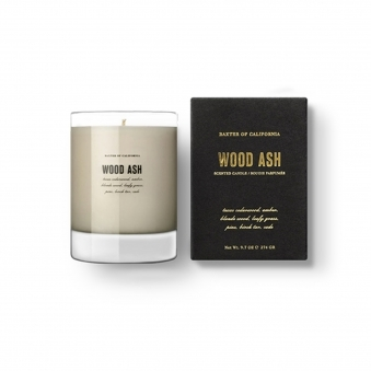 Wood Ash Flammable Candle