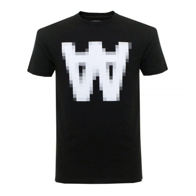Wood Wood AA Pix Black T-Shirt 11635717-2080