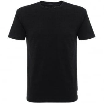 Wood Wood Solid Black T-Shirt 10005707