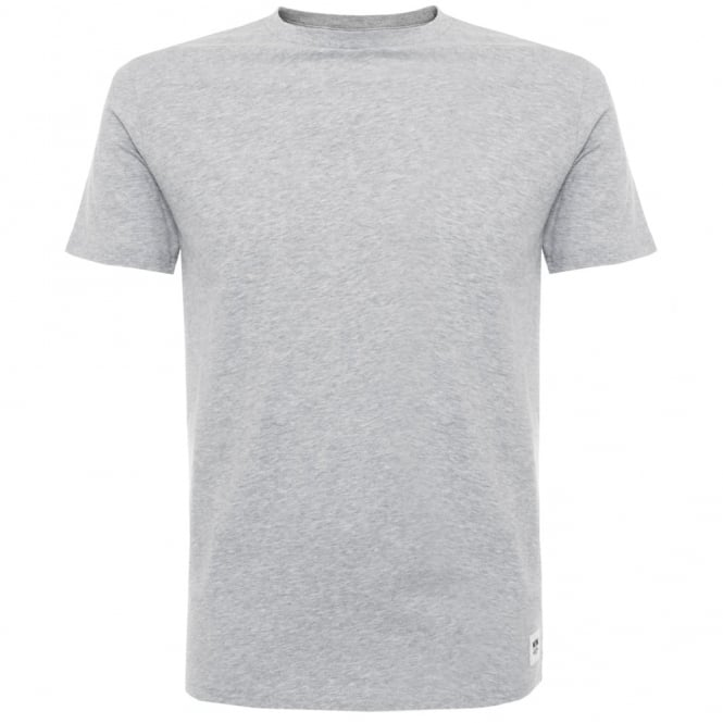 Wood Wood Solid Grey Melange T-Shirt 10005707