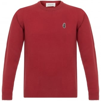 Yale Red Archway Long Sleeve Jumper