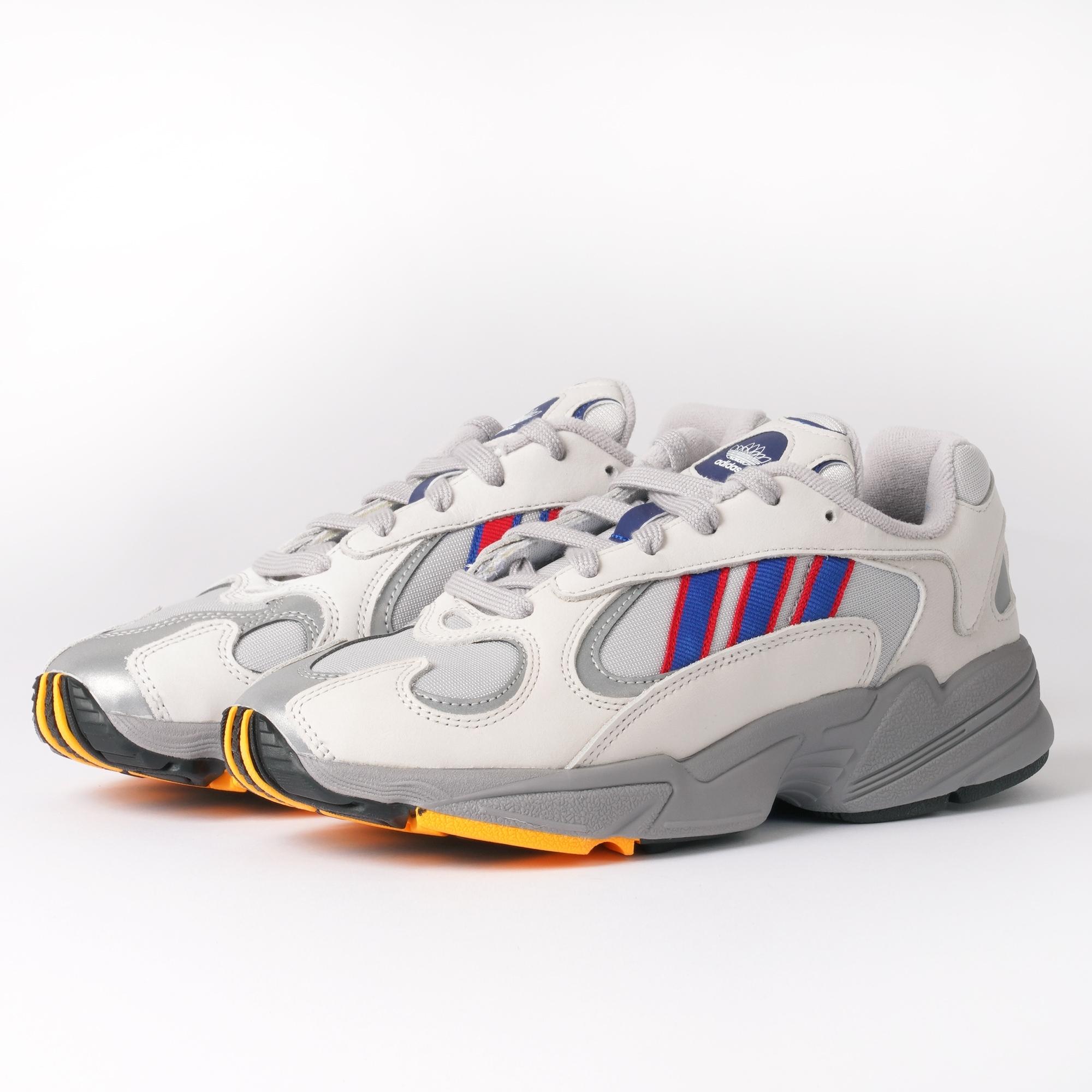 adidas Originals Yung-1 | Grey Two, Collegiate Royal & Scarlet ...